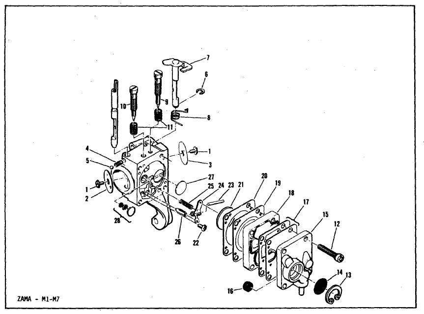 Carburatore decespugliatore shindaiwa